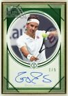 Roger Federer 2020 Topps Transcendent Tennis Collection Emerald Autograph 1 5