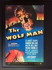 Lon Chaney  the Wolf Man 12 inch Universal Monsters Sideshow toys neuf