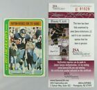 Walter Payton Football Cards, Rookie Card and Autograph Memorabilia Guide 78