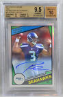 Topps Chrome Russell Wilson RC ROOKIE REFRACTOR AUTO #3 15 2012 BGS 9.5 GEM MINT