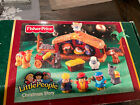 Piece Fisher Price Little People Nativity  Lil Shepherds Set Lights Music