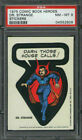 1975 Topps Comic Book Heroes Stickers 37
