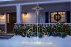 Outdoor Nativity Set 7 ft 397 Light Life Size Weather Resistant Christmas Decor