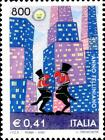 ITALIA ITALY 2000 FELLINI Ginger e Fred Art Cinema Stamp MNH