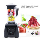 2L Heavy Duty Commercial Blender Mixer 2200W Power Food Juicer Low Noise Blender