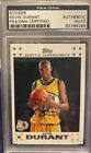 Kevin Durant Signed Auto 2007-08 Topps Rookie RC #2 PSA DNA White Variant