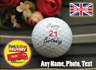 Happy Birthday Protech Air Golf ball personalised with any name logo text photo