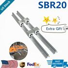 Sbr20 Linear Rail Guide 200mm-2200mm Slide Shaft Rod4x Sbr20uu Bearing Block Us