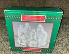 Christmas Around the World Crystaled Nativity Set Clear Glass Crystal NEW