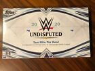 2020 Topps WWE Undisputed Wrestling Sealed Hobby Box 8 AUTOGRAPHS