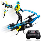 Drone for Kids Remote Control Indoor Beginner Drone Flying Toy Stunt Rider Set