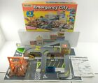 Vintage 1994 Matchbox EMERGENCY CITY Toy Car Playset w Sound TESTED COMPLETE