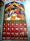 Christmas Bucilla Holiday Felt Applique ADVENT Calendar KitNATIVITYAngel82959