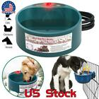 Heated Warm Water  Food Pet Bowl Automatic Constant Temperature Cat Dog Basin