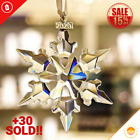 Crystal Large Annual Edition Christmas Ornament 2020 Glass Snowflake Home Decor