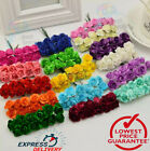 144 PCS MULBERRY PAPER ROSES FLOWERS 11 colors and 15cm flowers Wedding UK