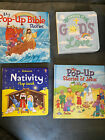 My Pop up Bible Stories Reminders Of Gods Love Usborne Nativity Flap Books