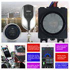 Keyless Remote Control Motorcycle Engine Start Anti theft Security Alarm System