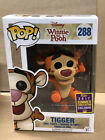 Funko Pop Tigger Flocked Winnie the Pooh Disney SDCC 2017 exclusive