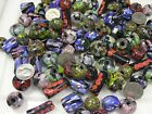 4 Pounds Assorted Shapes  Sizes India Handmade Factory Reject Glass Beads