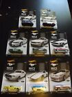 8 2013 FORD MUSTANG HOT WHEELS 50th YEARS Exclusive 8 SET NEW