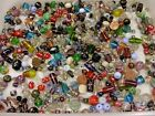 4 Pounds Assorted India Handmade Glass Beads Wholesale Bulk Lot Sale TRF 869