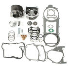 57mm Bore 150cc Gy6 Engine Rebuild Kit Cylinder Head For Chinese Scooter Part