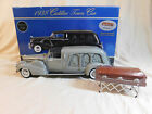 Sunset Coach Precision 1 18 Scale 1938 Cadillac Custom Craved Panel Hearse Grey