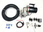 Universal 12V Electric Vacuum Pump Kit +Hardware GM Ford Chevy for Brake booster