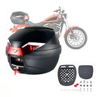 Motorcycle Top Case Top Box Scooter Luggage Trunk Motorbike Detachable Stand
