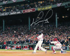 David Ortiz Autographed Signed Boston Red Sox 8x10 Photo BAS 26875