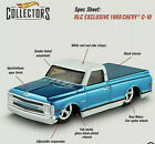 RLC CLUB Chevrolet 69 C 10 CHEVY C 10 Pickup Truck BLUE Square Body Low Rider