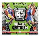2017-18 Totally Certified Basketball Hobby Box Factory Sealed NEW