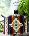 Native Geometric Alpaca Poncho EXCLUSIVE DESIGN Handcrafted by indigenous hand