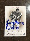 LENNY MOORE 2011 Panini Prime Signatures Prime Proof Red 64 99 #110 Signed Card