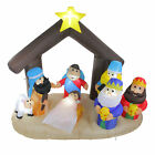 Northlight 55 Inflatable Nativity Scene Lighted Christmas Outdoor Decoration