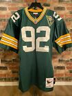 Authentic Mitchell & Ness Reggie White Green Bay Packers 1993 Jersey(Size 48 XL)