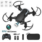 4DRC Mini Drone With 720P HD Wifi FPV Camera Foldable RC Quadcopter for kids