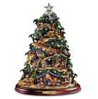 Thomas Kinkade Nativity Tree Glory To The Newborn King Tree