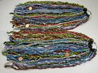 50 Strands 15 Assorted Colors and Styles 2nd Quality India Glass Beads HJ 5