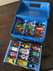 Vintage 24 Hot Wheels and Matchbox with Carry Case