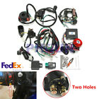 USA Electrics 50CC 70CC 110CC 125CC Mini ATV Wiring Harness Remote Start Switch