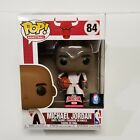 Michael Jordan Funko POP #84 Target Con 2021 Exclusive White Warm-Up Suit
