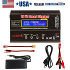 B6 V3 RC Lipo Battery Balance Charger Discharger 80W 6A with AC Power Adapter