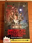 2018 Topps Stranger Things Season 1 Factory Sealed Hobby Box 24 packs 168 cards