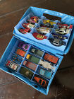 Vintage Hot Wheels and Matchbox with Carry Case 24 cars trucks