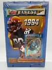 1994 Topps Finest Football FACTORY SEALED Box of 24 Packs Refractors? NFL