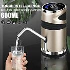 Electric Drinking Water Dispenser Pump USB Rechargeable Drinking Bottle 600 ml