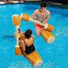 Inflatable Pool Floats Pool Party Play Boat Raft Collision Water Game Swimming