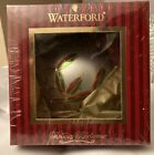 New  Unopened Waterford Holiday Heirlooms Ornament 2009 Annual Dated Santa Bal